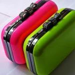 Green Candy Box Clutch Bag..